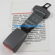PM OEM Steel Seat Belt Strap Buckle Kids Safety Extender Alarm Stopper Gray 24cm