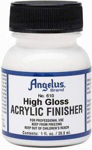 Angelus Finisher Hochglanz 29,5ml (20,17€/100ml) für Lederfarbe schützt
