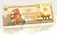 ★★★ ZIMBABWE : BILLET 1 ZETTALILION DOLLARS / 1 YOTTALILION DOLLARS ★★