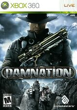 Damnation Microsoft Xbox 360 WHITE LABEL STEAMPUNK SHOOTER Codemasters Game
