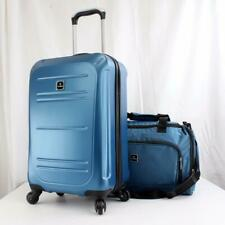 TAG VECTOR II 2 PIECE HARDSIDE SPINNER CARRY ON LUGGAGE SET TEAL USED 1