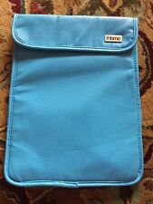 iHome Protective Pouch Sleeve Pocket Macbook, Laptop, iPad  Blue Magnetic