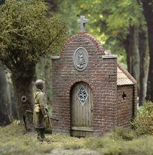 DioDump DD089 Small roadside chapel 1:35 scale diorama building plaster resin
