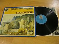 LP Bruckner 9. Sinfonie Carl Schuricht Philharmoniker  Vinyl EMI 1 C053-00647