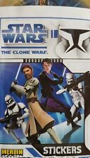 STAR WARS THE CLONE WARS X5O LOOSE STICKERS