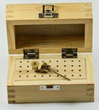 De Madera Dremel Rotary Fresa O Broca Corte bits Bur Organizador titular soporte de madera