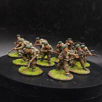Well Painted 28mm Bolt Action British commandos (plastic) ×10 squad #2 ww2