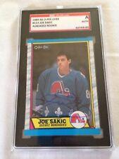 Joe Sakic HOF HAND SIGNED ON CARD 1989 O Pee Chee Rookie Card SGC CERTIFIED RARE