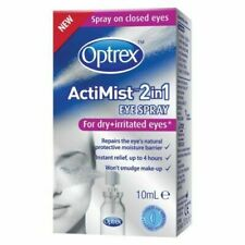 Optrex Actimist 2 in 1 Dry Irritated Eye Spray Boxed 10ml
