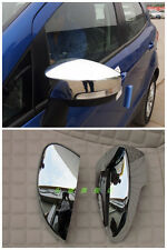 For Ford EcoSport 2013 2014 +ABS Chrome Side Mirror Cover Trim New