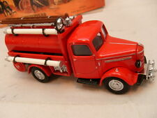 MATCHBOX DIE-CAST MODELS OF YESTERYEAR YFE04 1939 BEDFORD TANKER FIRE BRIGADE MI
