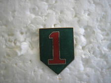 ARMY HAT PIN. 1st INFANTRY DIVISION