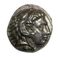 Kings Of Macedon Alexander III The Great AR Tetradrachm 336-323BC Citium Mint