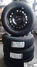 4x Winterräder VW Golf 7/Seat Leon 5F Stahlfelgen 195/65R15 Conti Reifen Felgen