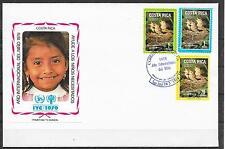 COSTA RICA/ Vögel MiNr 1029/31 FDC
