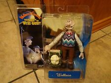 2005 MCFARLANE TOYS--WALLACE & GROMIT CURSE OF WERE RABBIT--WALLACE FIGURE (NEW)