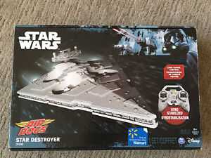 Star Wars Air Hogs Star Destroyer Remote Controlled Drone WORKS PERFECTLY