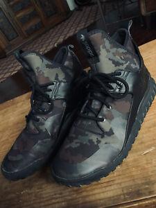 Adidas Tubular X Camo Men's Shoes B25700 Cblack/Dbrown/Oak Size 12