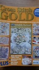 CROSS STITCH GOLD MAGAZINE ISSUE # 16 WILDLIFE PORTRAIT CHILDHOOD DAYS WEATHER