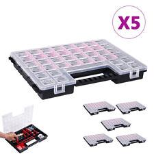 6x Sortimentskasten Kleinteilemagazin Sichtkasten Transparent 20 Fächer Nort12