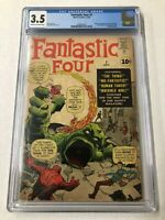 Fantastic Four 1 CGC 3.5 Marvel 1st Appearance Coming To The Marvel Universe