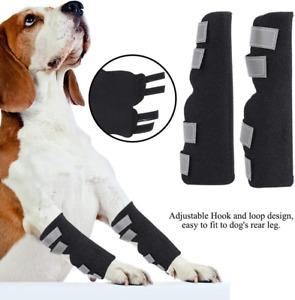 Kniebandage für Hunde, 1 Paar Sprunggelenk Schutz Bandage Gelenkbandage Hunde