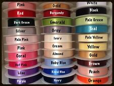 New 10mm Double Satin /Double Faced Ribbon~26 Awesome Colour For Gift Wrap/Masks
