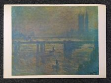 Monet 1978 Water Lilies, Giverny Oil On Canvas Reprint