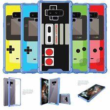 For Samsung Galaxy Note 9 SM-N960 | Note 9 Blue TPU Bumper Case - Retro Games