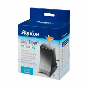 AQUEON QuiteFlow Air Pump 20 For Size 11-20 Gallon 1.7w