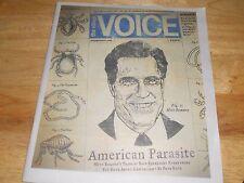 The Village Voice American Parasite Mitt Romney Bain Bad Capitalism 2012