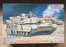 New listing M1A1-HA  Abrams w/ Tank Crew - 1/35 Shanghai Dragon unassembled AFV Kit#3517