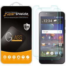 2X Supershieldz for ZTE ZFive C LTE Tempered Glass Screen Protector Saver