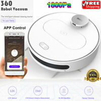 360 S6 Smart Sweeping & Mopping Robotic Vacuum Cleaner 1800Pa APP Remote Control