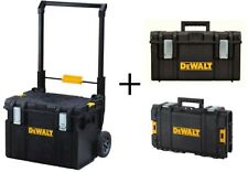 Tool Box Mobile Storage Unit Bonus 22 Inch Tough System Portable Wheels Workshop