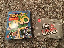 Toy Story UNO Card Game Mattel Special Edition 1997 Ages 7+