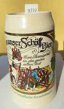 Bierkrug Brauereifest 1986 1 L Schäffbräu Treuchtlingen,Altmühl,Franken,Schäff