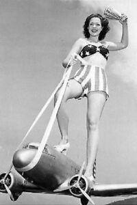 Anne Gwynne Girl Model Pin-up 4x6 WWII WW2 Photo 7