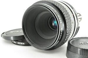 """ Near Mint "" Nikon Ai Micro Nikkor 55mm f/3.5 Macro MF Prime Lens from Japan"