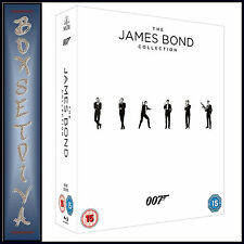JAMES BOND - 23 FILM COLLECTION **BRAND NEW BLU-RAY BOXSET **
