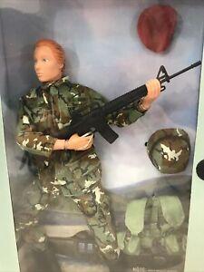 Hasbro U.S. 82nd Airborne Action Figure GI Joe Jane red hair