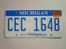 AUTHENTIC 2011 MICHIGAN LICENSE PLATE