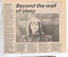 TRONICS press clipping 1981 25x20cm (19/9/81)