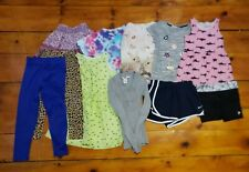 Lot Girls Clothing Size 6-8 PreOwned Condition Multi Brand Tops Leggings Dresses