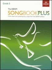 The ABRSM Songbook Plus Grade 5 Vocal Sheet Music Book Classic Contemporary Song