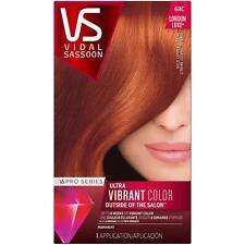 Vidal Sassoon Pro Series London Luxe Hair 6RC Bold Copper Citrine