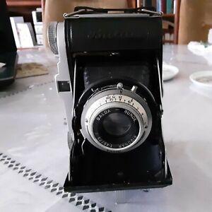 Vintage  folding 120 Balda Baldix f/1:45/75 Rigonar vario shutter film tested.