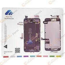 """New! iPhone 7 Plus 5.5 """" Magnetic Screw Chart Mat Repair Guide Pad Tool"""