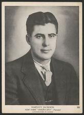 """1939 1939-40 1940 V301-1 O-PEE-CHEE HOCKEY ~ #20 ~ HARVEY """"BUSHER"""" JACKSON ~ HOF"""
