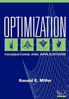 Optimization. Foundations and Applications by Miller, H. Ronald (Paperback book,